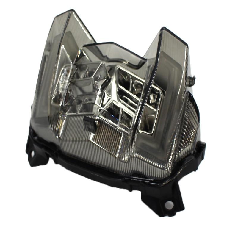 רשימת הקטגוריות אופנוע LED הפנס האחורי בלם אחורי אזהרה Turn Signal מחוון מנורת זנב אור ימאהה MT09 MT09 MT 09 2017 2018 2019 (4)