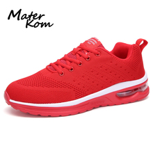 Size 39-47 Men Anti-slippery Casual Shoes Wear-resistant Sneakers Air Cushion Running Shoes Men's Breathable Sports Sneakers li ning men running shoes ez run anti slippery sports shoes light lining breathable sneakers arbm053 xyp586