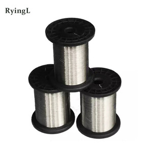 Image 2 - 0.1mm hard condition Bright Smooth Surface 100 meters SS304 Stainless Steel Wire Spools