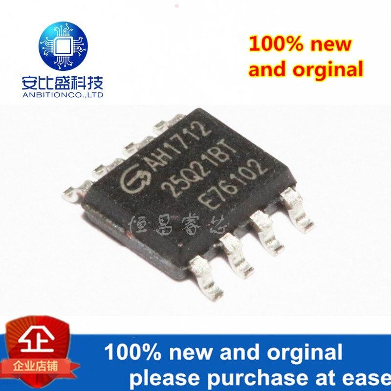 10pcs 100% New And Orginal GD25Q21BTIG 25Q21BTIG 25Q21 2Mbit SOP8 In Stock