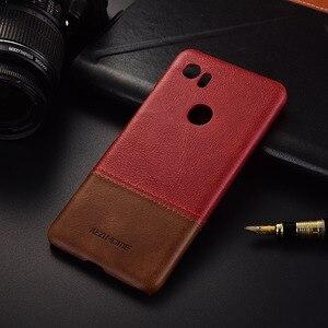 Image 5 - Luxe Merk Lederen Case Voor Google Pixel 2 Xl 4 Telefoon Back Cover Cases En Covers Shell Bumper