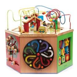 Оригинальный продукт для родителей, очень большая игрушка для школы, шестисторонний бутик, сундук с сокровищами, детская игрушка для