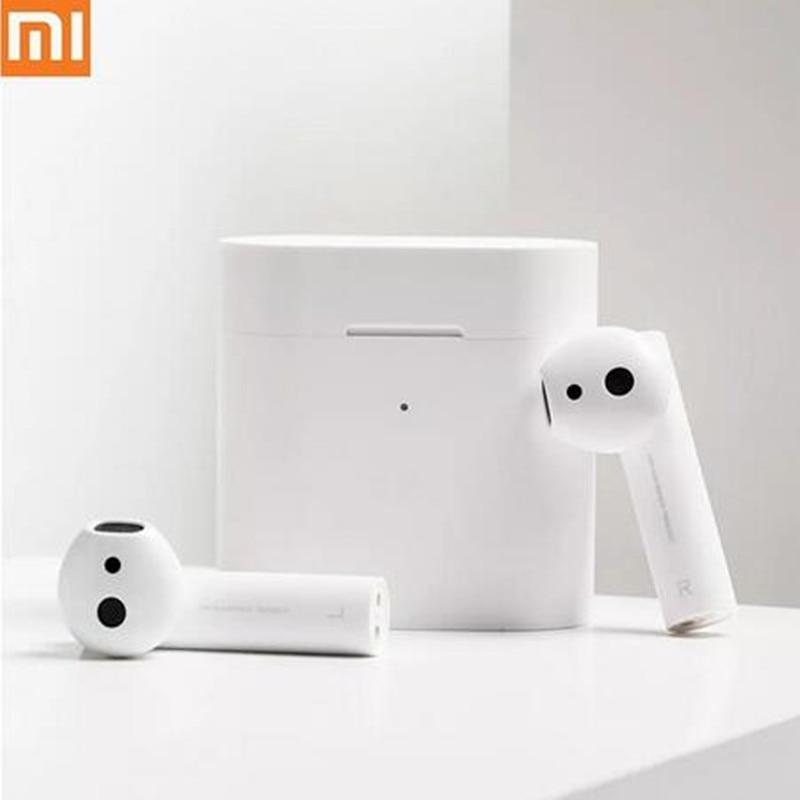 Original Xiaomi Air 2 TWS Airdots Pro 2 Mi Air 1 vrai sans fil écouteurs ENC Bluetooth 5 robinet contrôle vocal LHDC dynamique