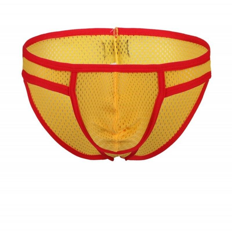 MEN'S Underwear Wholesale Foreign Trade wj wangjiang-MEN'S Underwear Mesh Briefs Wholesale 1001SJ