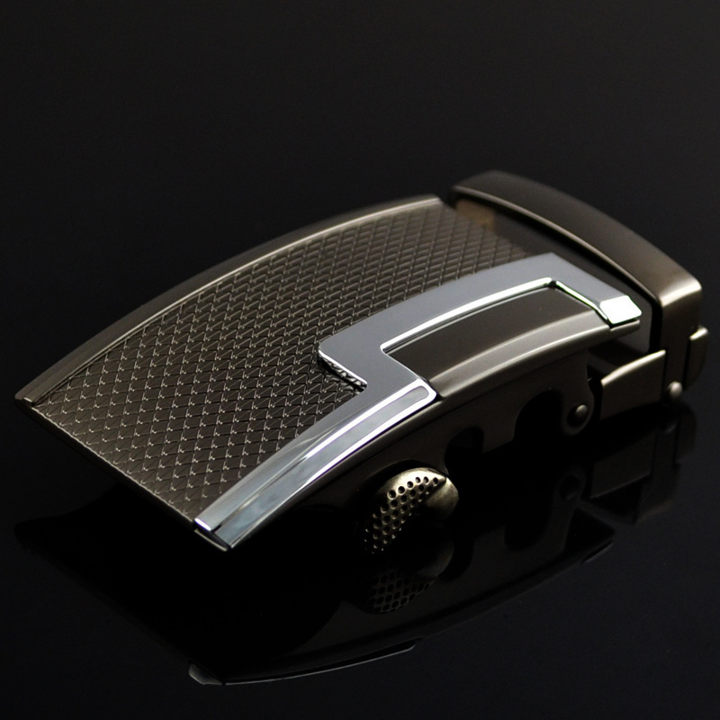 Genuine Men's Belt Head,Belt Buckle,Leisure Belt Head Business Accessories Automatic Buckle Width 3.5CM Luxury FashionLY125-0375