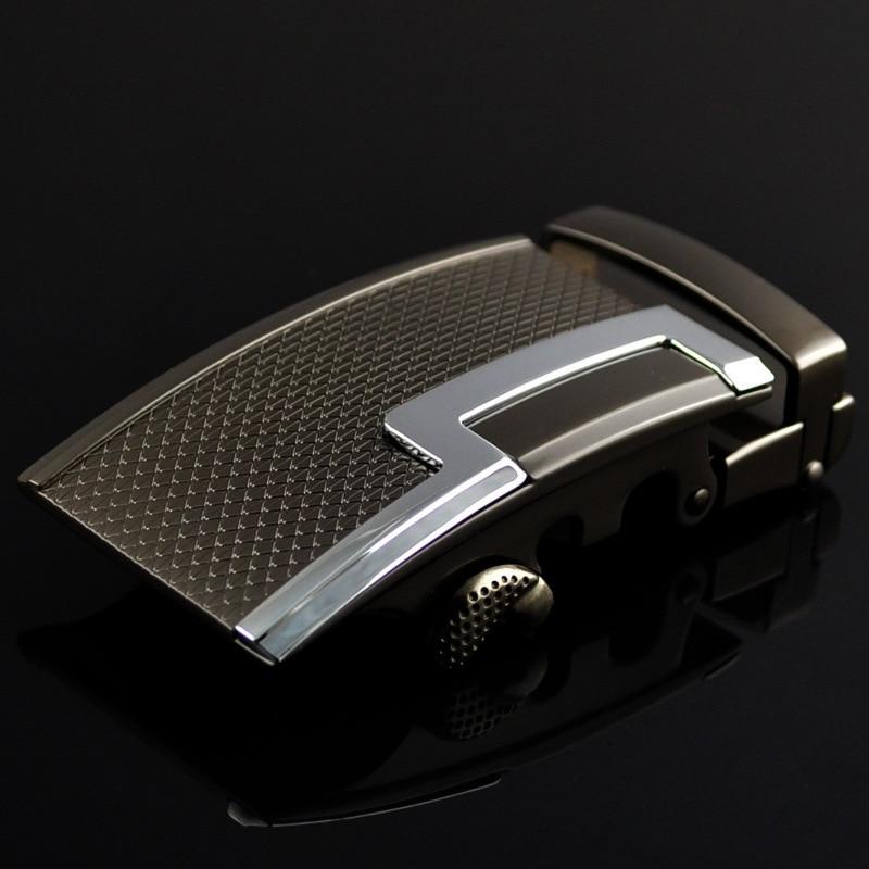 Genuine Men's Belt Head,Belt Buckle,Leisure Belt Head Business Accessories Automatic Buckle Width 3.5CM Luxury FashionLY125-0375