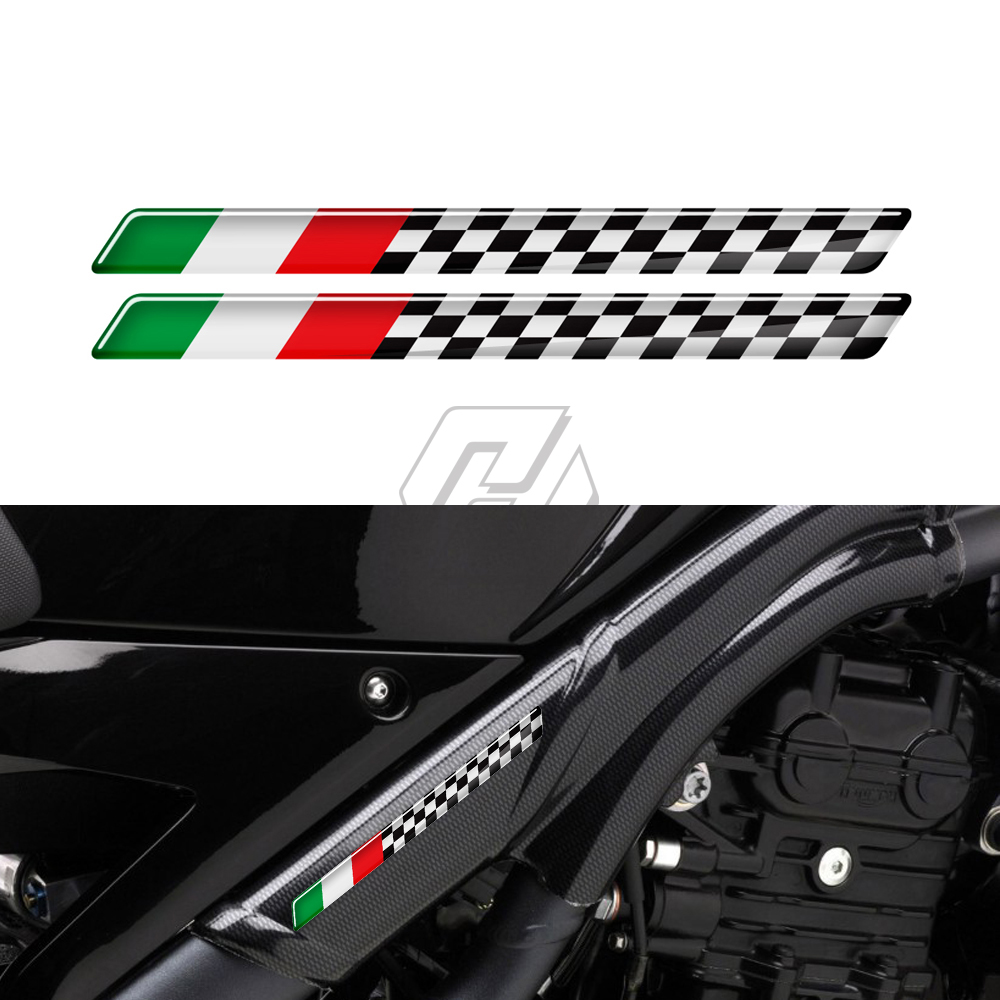 3D Italy Decal Motorbike Racing Stickers Case For Aprilia Ducati For Vespa Scooter GTS GTV LXV LIVE Sprint 50 125 150 250 300