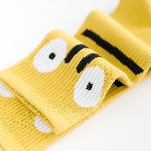 Новые носки с бабочками  модные забавные хлопковые носки с вышивкой 6