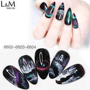 Image 5 - 12pcs ibdgel black bottle 15ML Lot Set chameleon 9D Cat Eyes Gel magic Magnetic Gel Nails Shining and Changeable UV led soak off