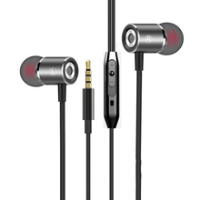 Earphone Magnetic Wire-Controlled Mobile Phone Headset with Microphone Music Headset