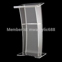 Мебельная Подставка Стабильный современный дизайн дешевая прозрачная акриловая Трибуна акриловая Подиум оргстекло