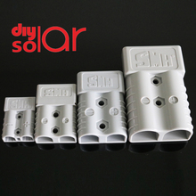 350 175 120 50A 600 V Plug Connector Double Pole with copper Contact handle Anti Dust Cover solar quickly connect