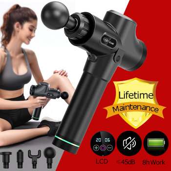 Muscle Massage Gun Deep Tissue Massager Therapy Exercising Pain Relief Body Shaping  recovery muscle