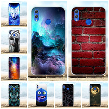 For Huawei Honor 8X Case Soft TPU Silicone For Huawei Honor View 10 Lite Cover Beach Patterned For Huawei Honor V10 Lite Shell цена 2017