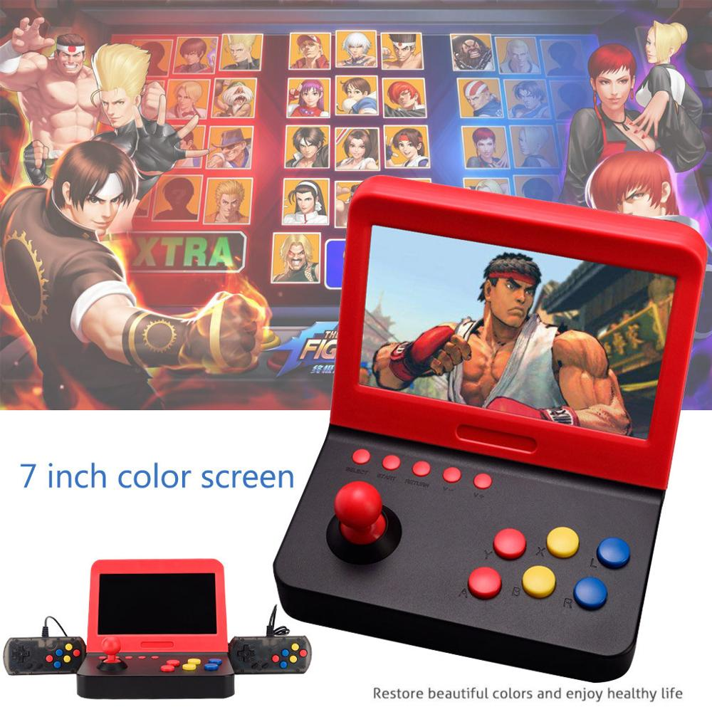 Video Game Console Mini 7 inch Arcade Game Consola Retro Machines for Kids with 3000 Classic Game handle Games Retro Handheld