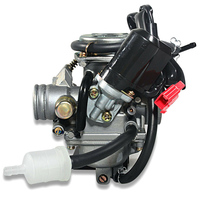 Parts Carburetor Spare Accessory 24mm For GY6 125cc 150cc Motorcycle Carb