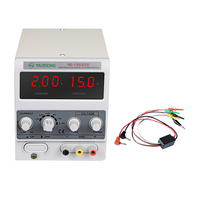 Yaogong 1502DD 15V 2A AC to DC power supply adjustable current LED Display for mobile phone repair
