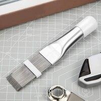 3 pacote fin pente ar condicionado fin mais limpo  condicionador de ar bobina mais limpo metal fin evaporador ferramenta de reparo do radiador|Peças p ar condicionado| |  -