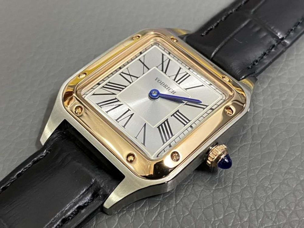 2020 Men's Fashion Watch Stainless Steel Frame Calf Leather Bracelet Fully Automatic Movement Aaa Quality Watch.