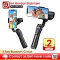 Gimbal H4 3 оси USB зарядка видео Запись поддержка Универсальный Регулируемый направление ручной Gimbal смартфон стабилизатор Vlog