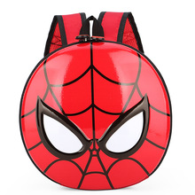 2020 creative cute children's spiderman cartoon eggshell school bag hard shell backpack custom logo