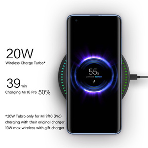 Image 3 - ZMI Wireless Charger 20W Max Bluetooth 5.0 Speaker For Mi 9/10 (Pro) (Other 10W Max With Gift Charger) 7 Color Light FOD Safety