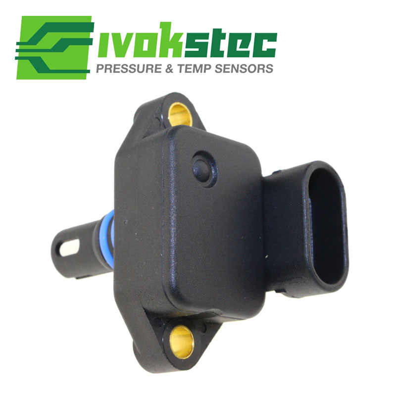 2.5 Bar Intake Air Manifold Absolute Boost Pressure Map Sensor Sender Voor Mini Cooper S Werkt R50 R52 R53 1.6L 12140872679