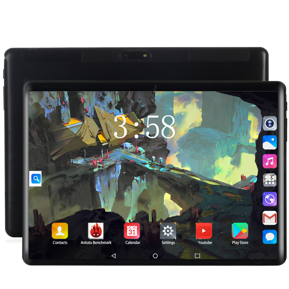 2020 Original 10 Inch Tablet Pc Android 8.0 Octa Core 6GB+128GB 1920*1200 IPS Curved Screen 8MP Camera WIFI Bluetooth Tablets 10