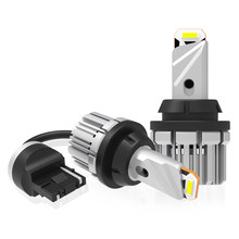 2Pcs Auto Backup LED Umge Lichter 7440 T20 W21/5W W21W Led-lampen Mit CSP Chips 12V 21W 6000K Xenon Weiß Canbus Fehler Freies