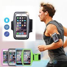 Esportes correndo braçadeira saco caso capa correndo braçadeira universal suporte do telefone móvel esporte ao ar livre à prova dwaterproof água braço pou