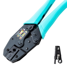 Ferramenta rj45 cat7 crimper cat7 conector ferramenta de friso cabo crimper alicates para cat7 cat6a blindado clipe de metal conector