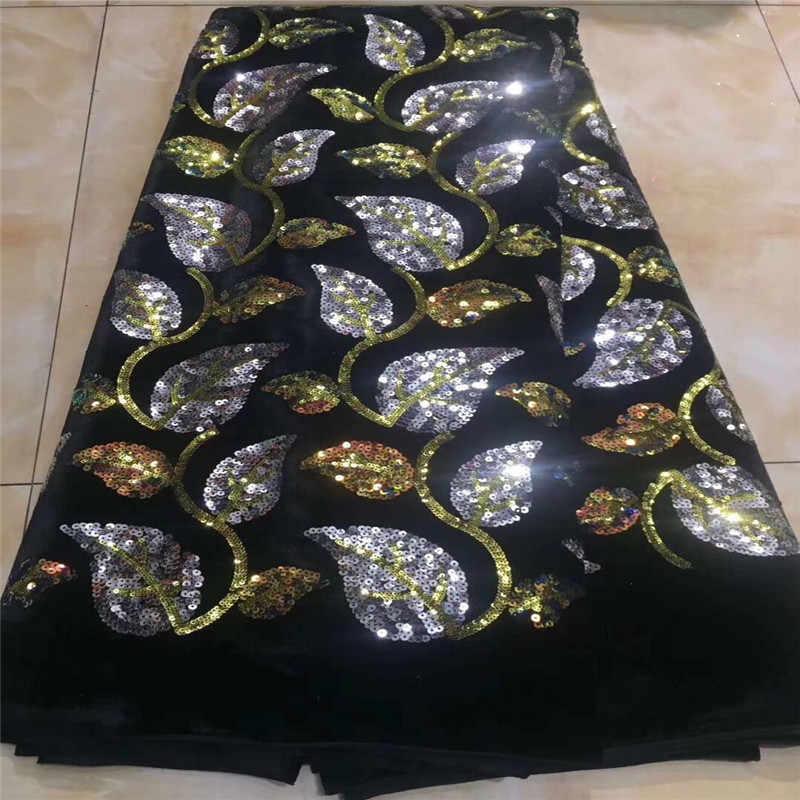Africano lantejoulas tecido de renda veludo roxo alta qualidade laço francês net bordado tule rendas tecidos para nigeriano vestido festa