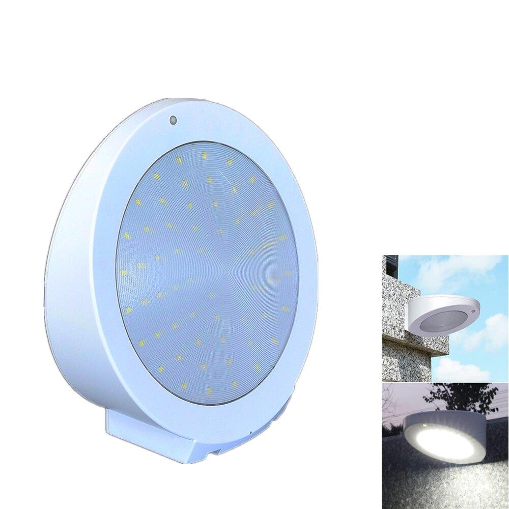 Solar Lights Outdoor Motion Sensor 4Modes Solar Garden Light 16/48/60 LED Lights Solar Powered Waterproof Wall Lamp Up to 1400LM