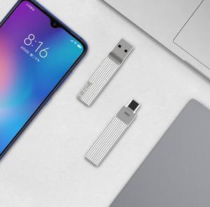 Image 3 - Xiaomi jesis タイプ c usb のデュアル携帯電話 u ディスク M1 360 回転アルミ合金素材 120 メガバイト/秒使用することができアプリ