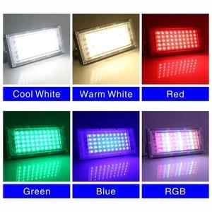 Image 3 - 2pcs/lot 50W LED Flood Light Chip SMD 2835 Outdoor Floodlight Spotlight Beads AC 220V For LED Street Lamp Landscape Lighting