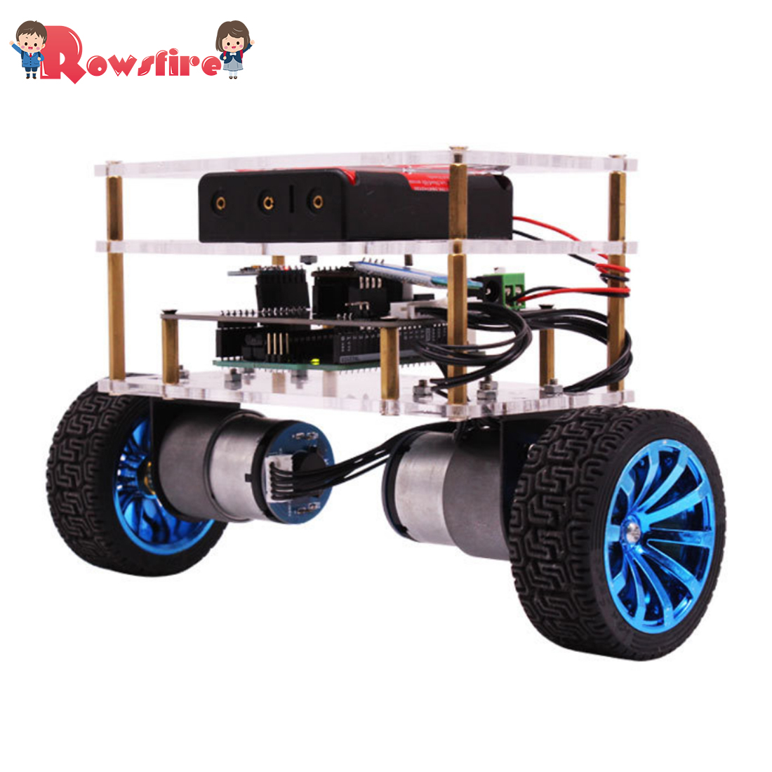 Balance Robot Car Compatible With Arduino Electronics Programmable Kit Education Robotics Support C Language For Kids Adult