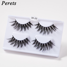 2 pairs 3D Mink Hair False Reusable Portable Natural Eyelashes Fashion Thick Long Eye Lashes Wispy Makeup Beauty Extension Tools 5 pairs 3d mink hair false eyelashes natural thick long eye lashes fluffy wispy eye makeup beauty soft eyelash extension tools