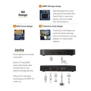 Image 4 - Caixa superior ajustada do núcleo do quadrilátero h.265 4 k wifi media player tx3mini 1 gb 8 gb vontar tx3 mini smart tv caixa android 7.1 2 gb 16 gb amlogic s905w