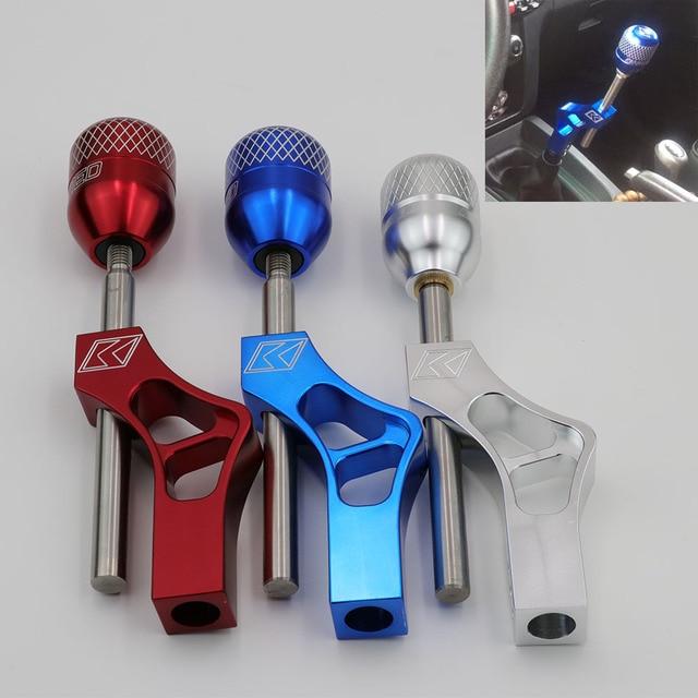 Pommeau de levier de levier de manette de vitesse réglable en aluminium pour Honda Civic Integra CRX B16 B18 B20 D Series