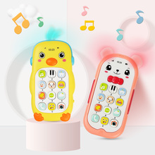 Musical-Phone-Toys Sound-Light Baby Electronic Cute Infant Cartoon Educational 5-Styles