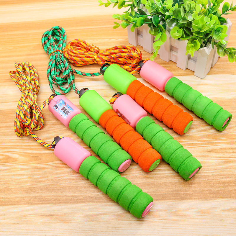 New Style Jump Rope Count Jump Rope School Practice Only Jump Rope Children Casual Sports Toy