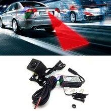 цена на Car Warn Signal Warning Light Car LED Laser Fog Light Anti-fog Anti-Collision Taillight Brake Warning Safety Lamp Alarm Light
