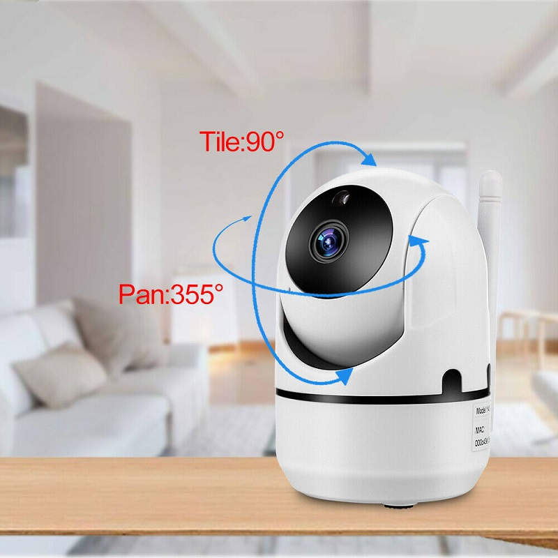 White Wifi Camera HD 1080P Cloud Wireless IP Camera Intelligent Auto Tracking Of Human Home Security Surveillance
