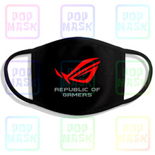 Asus Republic Of Gamers Reusable Cotton Anti Pollution Face Mouth Mask