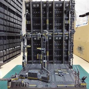 Image 1 - 4 개/대 DIY 기계 체인 액션 디스플레이 기본 기계 둥지 1/100 건담 모델에 대 한 Decals