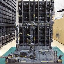 4 sztuk/zestaw DIY mechaniczny łańcuch Action podstawka gniazdo maszyny do 1/100 Gundam Model z naklejkami