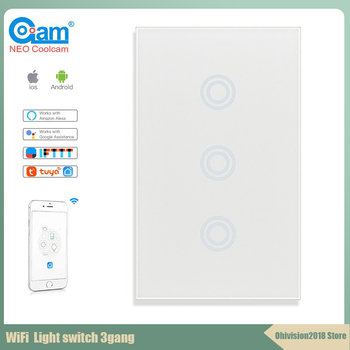 Coolcam EU US Standard 3 Gang 1 Way Wall Touch Light Switch,Wall power sensor switch,with led backlight chint lighting switches 118 type switch panel new5d steel frame four position six gang two way switch panel