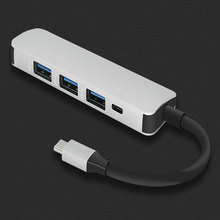 Type-C 3.0 HUB Splitter Hub 4 usb3.0 speed data port Macbook USB Docking Station