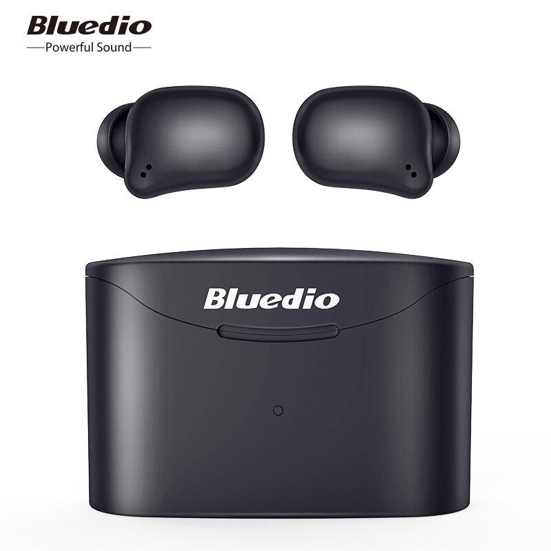 Bluedio T elf 2 TWS Bluetooth earphone Sport Wireless in ear headset with charging box microphone for iphone xiaomi Bluetooth Earphones & Headphones    - AliExpress