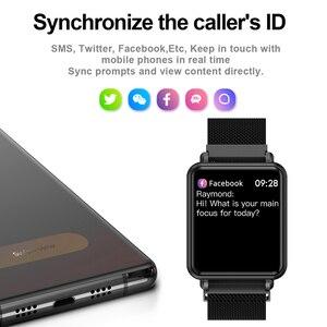 Image 4 - COLMI לנד 1 מלא מסך מגע חכם שעון IP68 עמיד למים Bluetooth ספורט כושר tracker גברים Smartwatch עבור IOS אנדרואיד טלפון